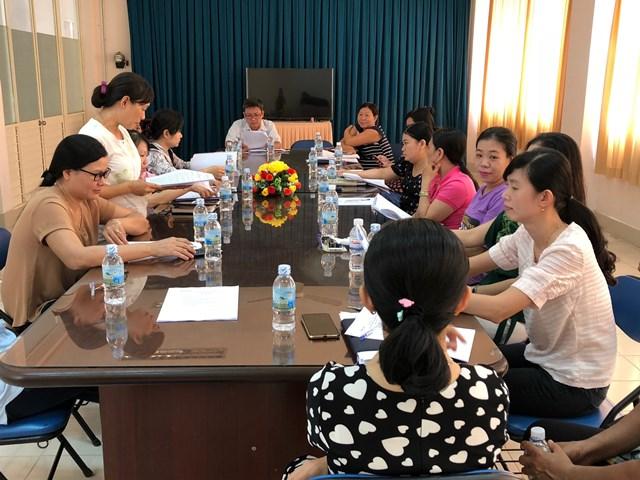 Thư viện tỉnh họp triển khai công tác cải cách hành chính 6 tháng cuối năm 2019